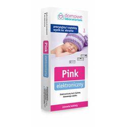 Pink elektroniczny test ciążowy domowego użytku x 1 sztuka