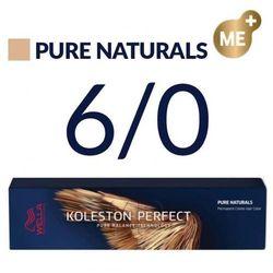 Wella Koleston Perfect Me+ 60ml Farba do włosów, Wella Koleston Perfect Me - 6/0 SZYBKA WYSYŁKA infolinia: 690-80-80-88