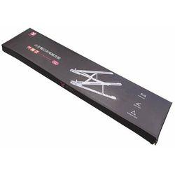 Składana podstawka stojak podpórka do laptopa MacBooka L (ekran od 14'' do 17,3'') srebrny - L