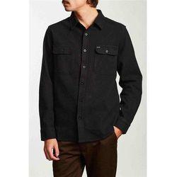 koszula BRIXTON - Bowery L/S Flannel Washed Black (WABLK) rozmiar: L