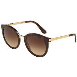 Dolce & Gabbana 4268 502/13 Okulary przeciwsłoneczne + Darmowa Dostawa i Zwrot