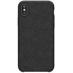 Baseus Original super fiber   Etui ochronne pokrowiec case do iPhone XS Max 6.5''   Czarny