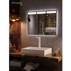 Lustro z podświetleniem led do łazienki: JASMIN-01