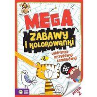 Kolorowanki, Megazabawy i kolorowanki Zeszyt 2 - Praca zbiorowa
