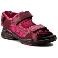 Sandały dziecięce, Sandały ECCO - Biom Sandal 70362250286 Morillo/Morillo/Beetroot