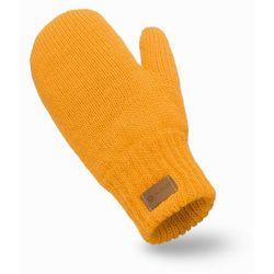 Rękawiczki damskie PaMaMi - Miodowy - Miodowy