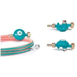Przewód gazowy FAMAS z reduktorem i manometrem 2 m