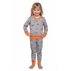 Piżama dziecięca Orso szara