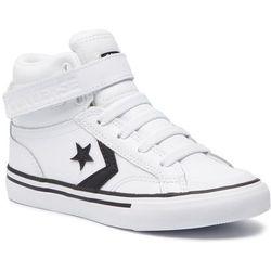Sneakersy CONVERSE - Pro Blaze Strap Hi 663605C White/Black/White