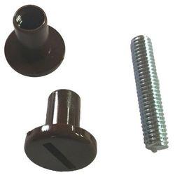 Nakrętki śrubowe z trzpieniem M6 x 28 mm 2 szt. brązowe