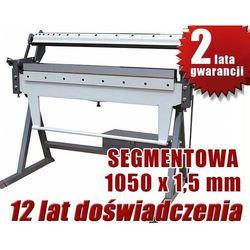 ZAGINARKA GIĘTARKA SEGMENTOWA DO BLACHY MAKTEK W1,5X1050mm EWIMAX promocja (--43%)
