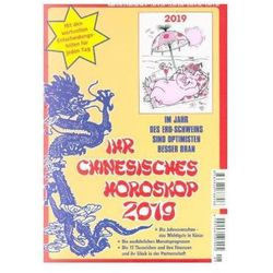 Ihr Chinesisches Horoskop 2019 Herzberg, Daniela