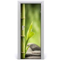 Naklejka samoprzylepna okleina na drzwi Bambus