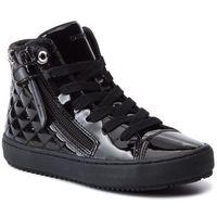 Kozaki dziecięce, Sneakersy GEOX - J Kalispera G. D J944GD 000HH C9999 S Black