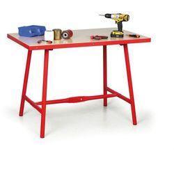 Składany stół warsztatowy, 1205 x 705 x 845 mm
