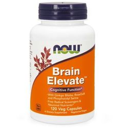 Now Foods Brain Elevate 120kaps