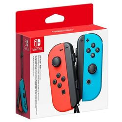 Nintendo SWITCH Joy-Con Pair Neon Red Neon Blue - kontrolery (czerwony + niebieski)