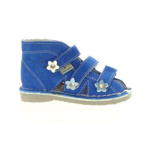 Pozostała moda, Kapcie DANIELKI buty profilaktyczne s124 blue