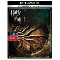 Filmy przygodowe, Harry Potter i Komnata Tajemnic 4K (Blu-ray) - Chris Columbus DARMOWA DOSTAWA KIOSK RUCHU