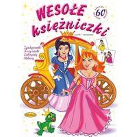 Literatura młodzieżowa, Wesołe ksieżniczki. Zgadywanki - praca zbiorowa - książka (opr. broszurowa)
