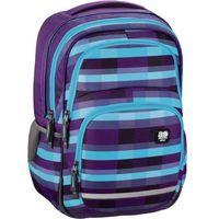 Tornistry i plecaki szkolne, Plecak szkolny BLABY kolor: summer check purple