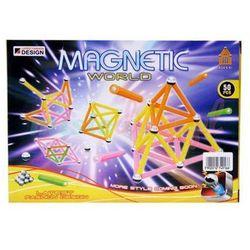 Klocki magnetyczne 50el