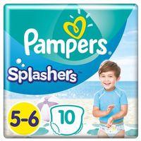 Pieluchy jednorazowe, Pampers pieluchomajtki Splashers S5 10szt- natychmiastowa wysyłka, ponad 4000 punktów odbioru!