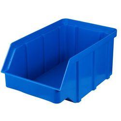 Plastikowy pojemnik warsztatowy - wym. 118 x 78 x 56 - kolor niebieski