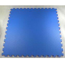 Mata puzzle MASTERS 100 cm x 100 cm x 2 cm czerwono-niebieska
