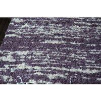 Chodniki, Chodnik bawełniany ręcznie tkany 65x150 cm wrzosowo-ecru (k-31)