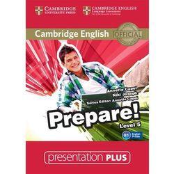 Cambridge English Prepare! 5 Presentation Plus (Płyta DVD)