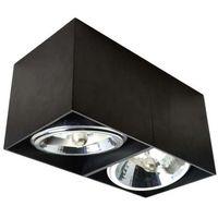 Lampy sufitowe, Lampa natynkowa SPOT BOX II Czarny Zuma Line 90433 + RABAT w koszyku! - Czarny \ 2