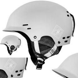 KASK NARCIARSKI K2 THRIVE L/XL 59-62cm SNOWBOARD szary