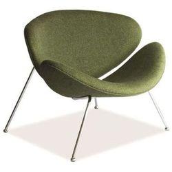 Nowoczesny fotel MAJOR green