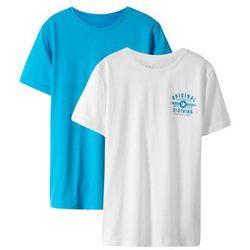 T-shirt z komiksowym nadrukiem bonprix jasnoszary melanż