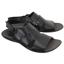NIK 06-0347-01-7-01-03 czarny, sandały męskie - Czarny
