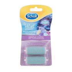 Scholl Velvet Smooth™ Marine Minerals Wet & Dry Roller Heads Gentle Coarse pedicure 2 szt dla kobiet
