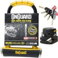 Zabezpieczenia do roweru, Onguard Brute STD 8001 Zapięcie typu U-lock 115x202 mm Ø16,8 mm U-locki