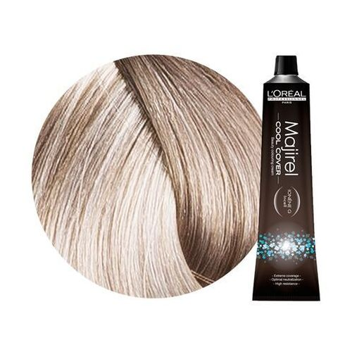 Farbowanie włosów, L'Oréal Professionnel Majirel Cool Cover farba do włosów odcień 9.1 Very Light Ash Blonde (Beauty Colouring Cream) 50 ml