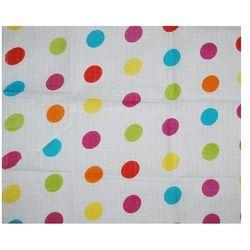 Pieluszka tetrowa 70x80 Kolorowe kropki