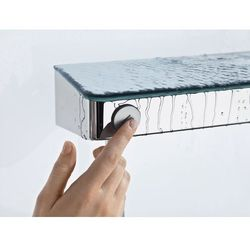 Bateria Hansgrohe Showertablet select hansgrohe hg thermostatic show er mixer wall m. showertablet select 300 white/chrome biały/chrom - 13171400 13171400