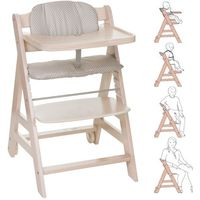 Krzesełka do karmienia, HAUCK Krzesełko do karmienia Beta Plus Whitewashed/Dots - BEZPŁATNY ODBIÓR: WROCŁAW!
