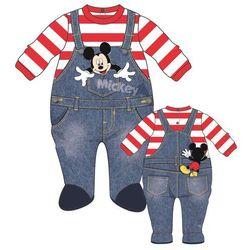 Disney by Arnetta ubranko chłopięce Mickey Mouse 74 niebieskie