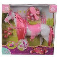 Pozostałe zabawki, STEFFI Koń z akcesoriami różowy - Simba Toys DARMOWA DOSTAWA KIOSK RUCHU