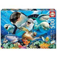 Puzzle, Puzzle 500 elementów Podwodne selfie - DARMOWA DOSTAWA OD 199 ZŁ!!!