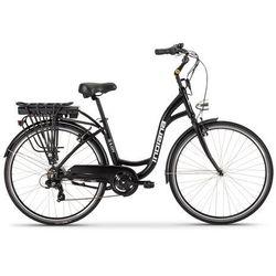 Rower elektryczny INDIANA E-City D18 Czarny + DARMOWY TRANSPORT!