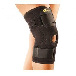 Orteza neoprenowa stawu kolanowego, z zawiasami. Beżowa lub Czarna