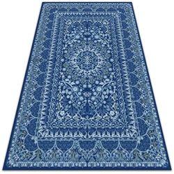 Piękny dywan zewnętrzny Piękny dywan zewnętrzny Niebieski antyczny styl