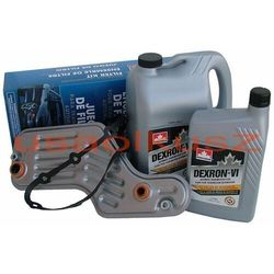 Filtr oraz olej Dextron-VI automatycznej skrzyni biegów 5R55 Ford Explorer