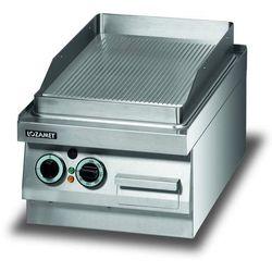 Płyta grillowa elektryczna, ryflowana, 3,4 kW, 400x650x270 mm | LOZAMET, LEG220